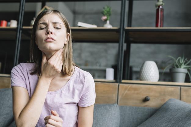 Opgezette lymfeklieren hals door stress