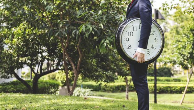 Houd de tijd bij