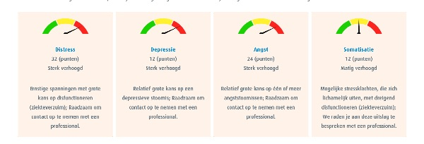 angst voor burn-out test