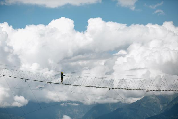 hoogtevrees zonder het te weten