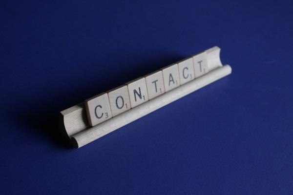 neem contact op bij stress