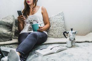 onrustig slapen door smartphone